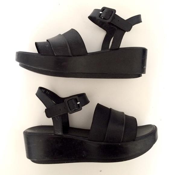 d3ceb4024f76 Robert Clergerie pod platform sandals. M 5aaeef62d39ca21773a9d55a